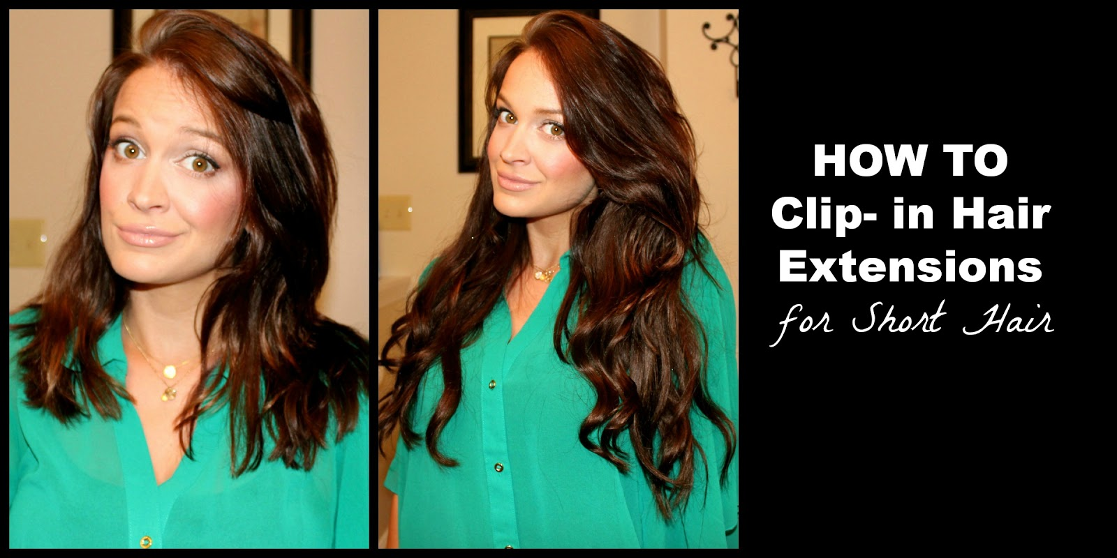 Bentleyblonde How To Clip In Hair Extensions For Short Hair