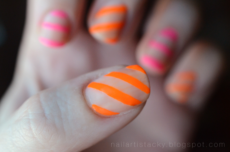 Neon & Nude Nails - OCC Beta - OCC Anime