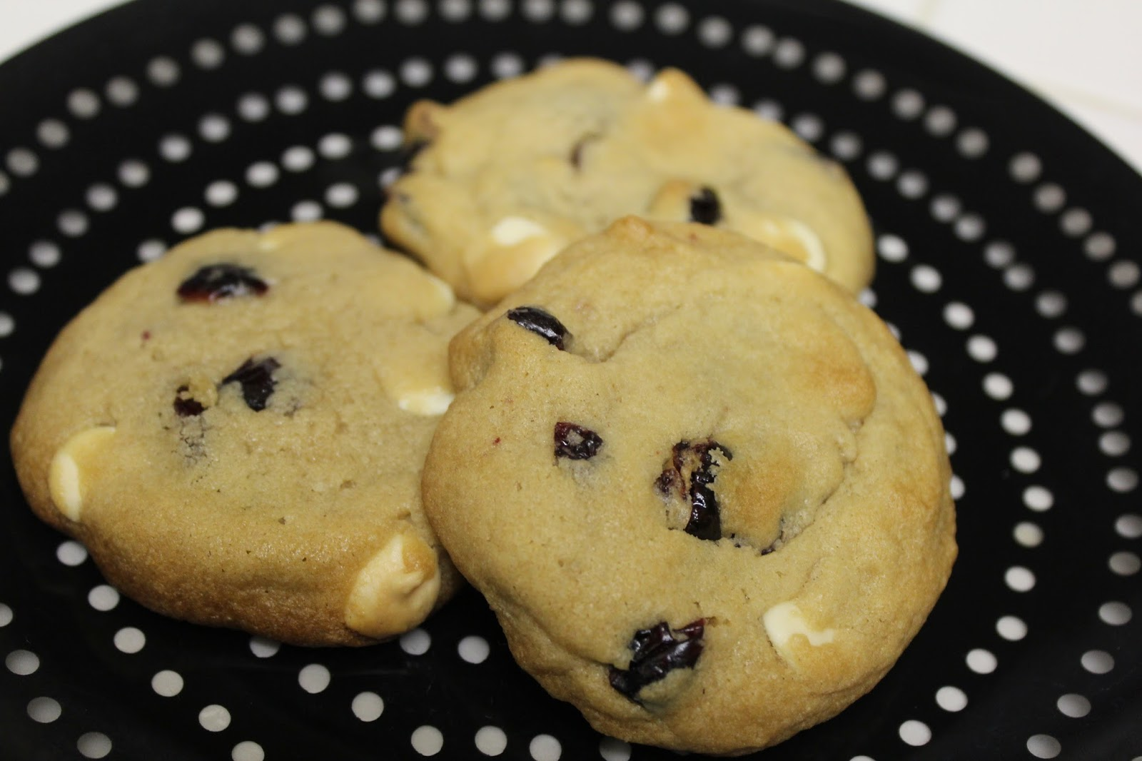 ... Foodista Chronicles: Chewy Cranberry and White Chocolate Chip Cookies