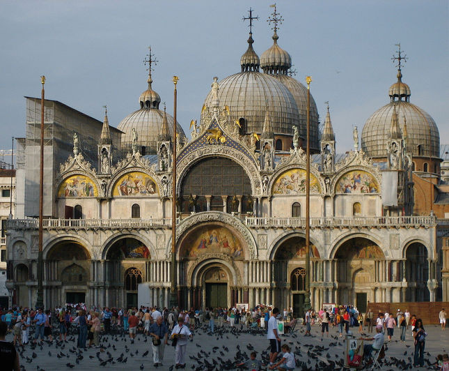 la favola della botte basilica di san marco a venezia. Black Bedroom Furniture Sets. Home Design Ideas