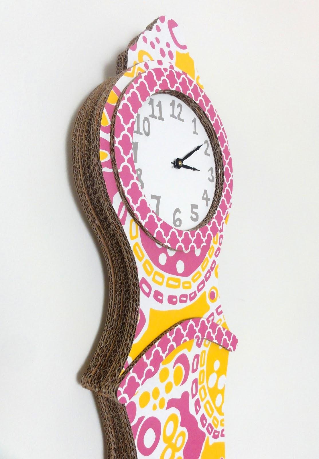 Amy Brumley: Cardboard Clock