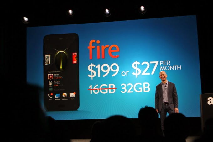 Amazon's first Smartphone unveils, A Fire Phone