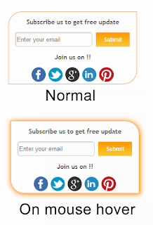 Hot: Compact Subscription box widget for Blogger