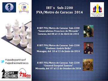 En Venezuela: TORNEOS IRTs 2014 del Club de Ajedrez Metro de Caracas (Dar clic a la imagen)