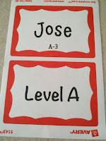Kindergarten Name Tags