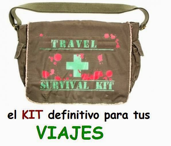 kit supervivencia para viajes