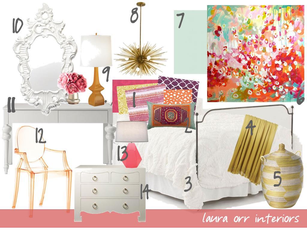 Bedroom Mood Board Laura Orr Interiors Mood Board Monday Bohemian Bedroom