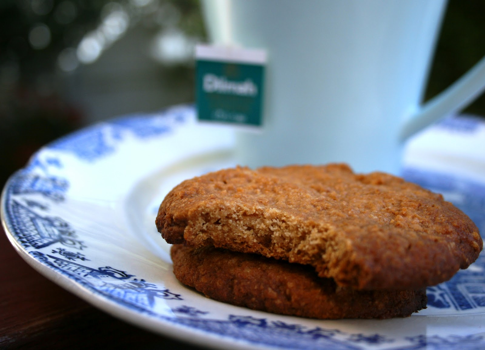 Honey Almond Wholemeal Biscuits | Cooking is a Pain