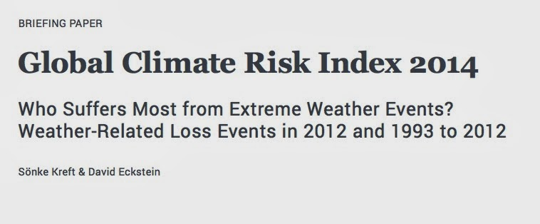Haiti and the Global Climate Risk Index 2014