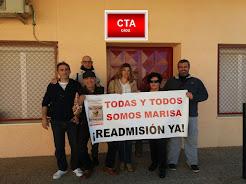 CTA CÁDIZ POR LA READMISIÓN DE MARISA