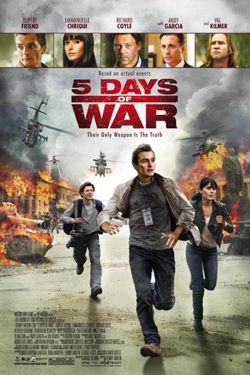 5 Days of War (2011) DVDRip | 400 MB