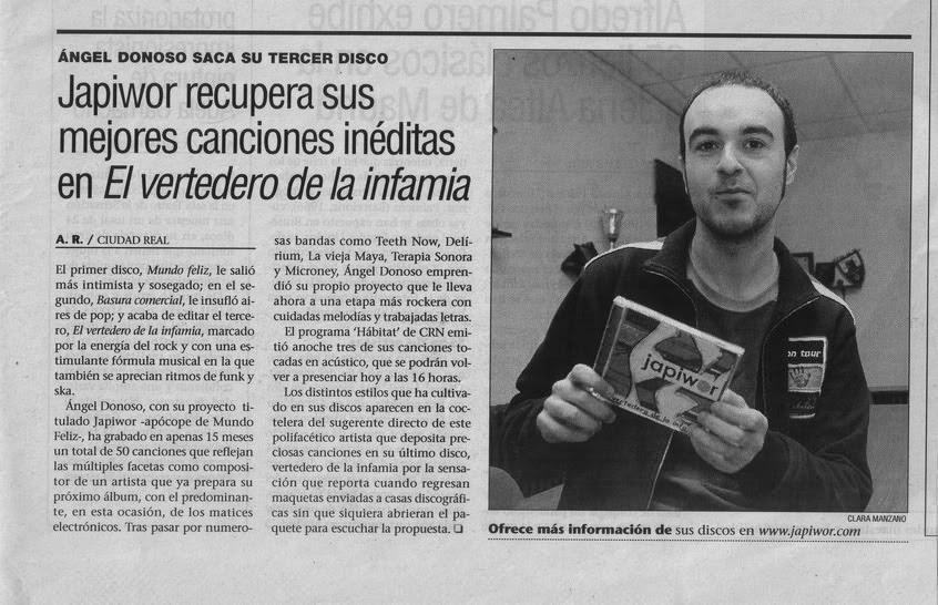 14/03/2006 DIARIO LANZA Ciudad Real