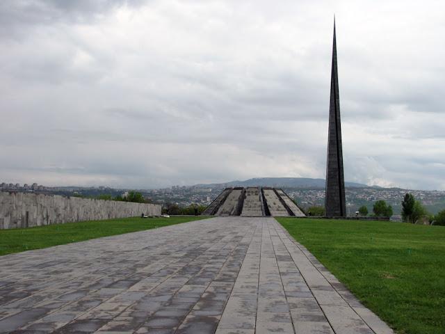 Armenia, Yerevan - memorial del genocidio