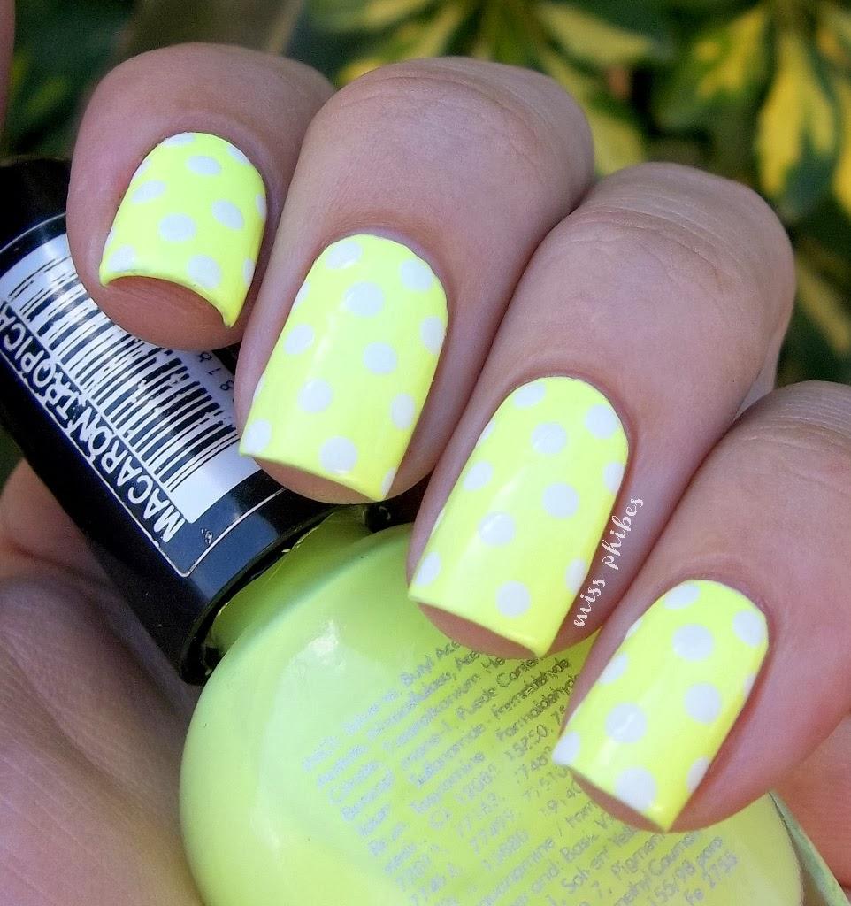 Polka dots neon