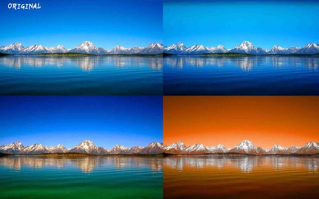 Paquete de gradientes para Photoshop, especializados en paisajes