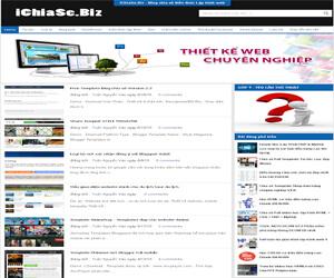 Chia sẻ template blogspot ichiase.biz v2
