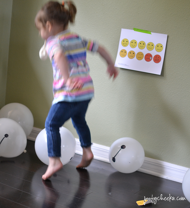 Big Hero 6 Balloon Matching Game - free printables