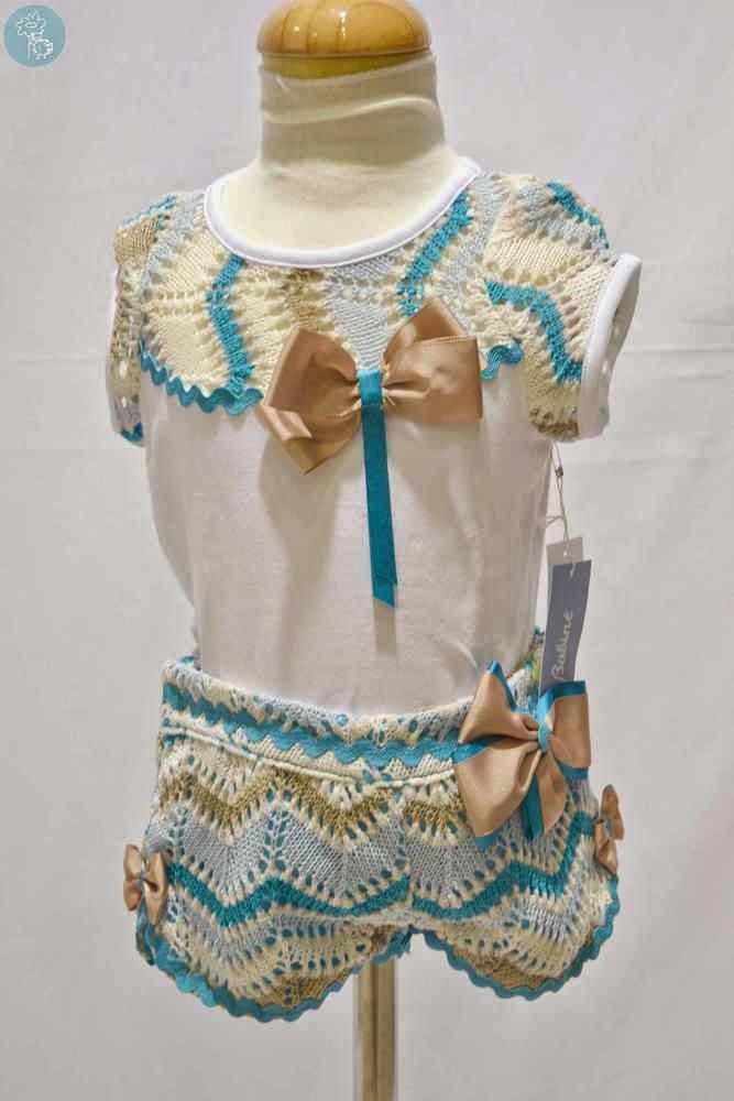 Conjunto Babiné en Blog y tienda Retamal moda infantil y bebe