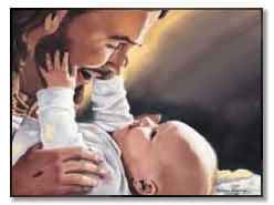 babyinheaven, jesus, jesus with baby, stillbirth, heaven, dead baby, angel baby