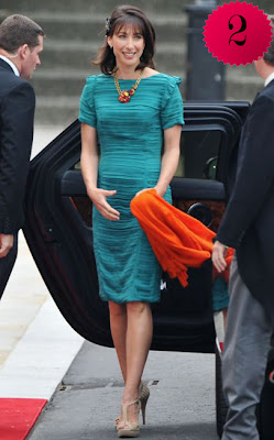 Britain S Prime Minister S Wife Samantha Cameron Who S Determined