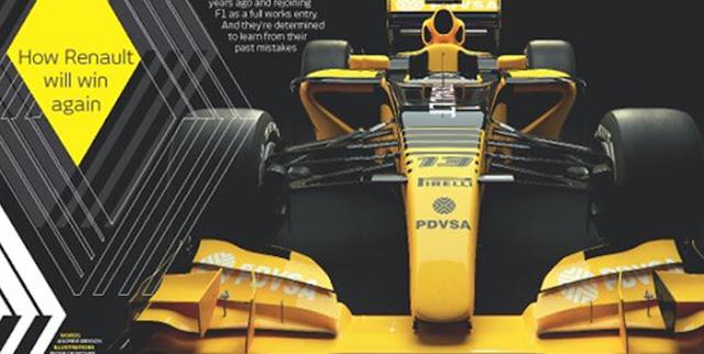Renault presenta su monoplaza