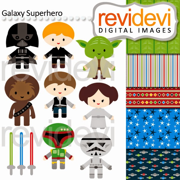 http://www.teacherspayteachers.com/Product/Clip-Art-Superhero-Star-wars-inspired-1393743