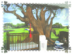 mural in a church nursery