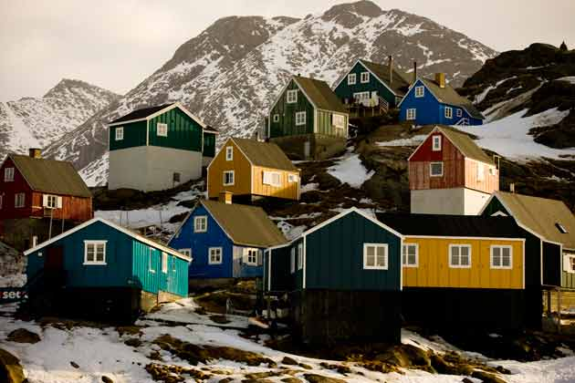New Home Designs Latest Colourful Houses In Greenland