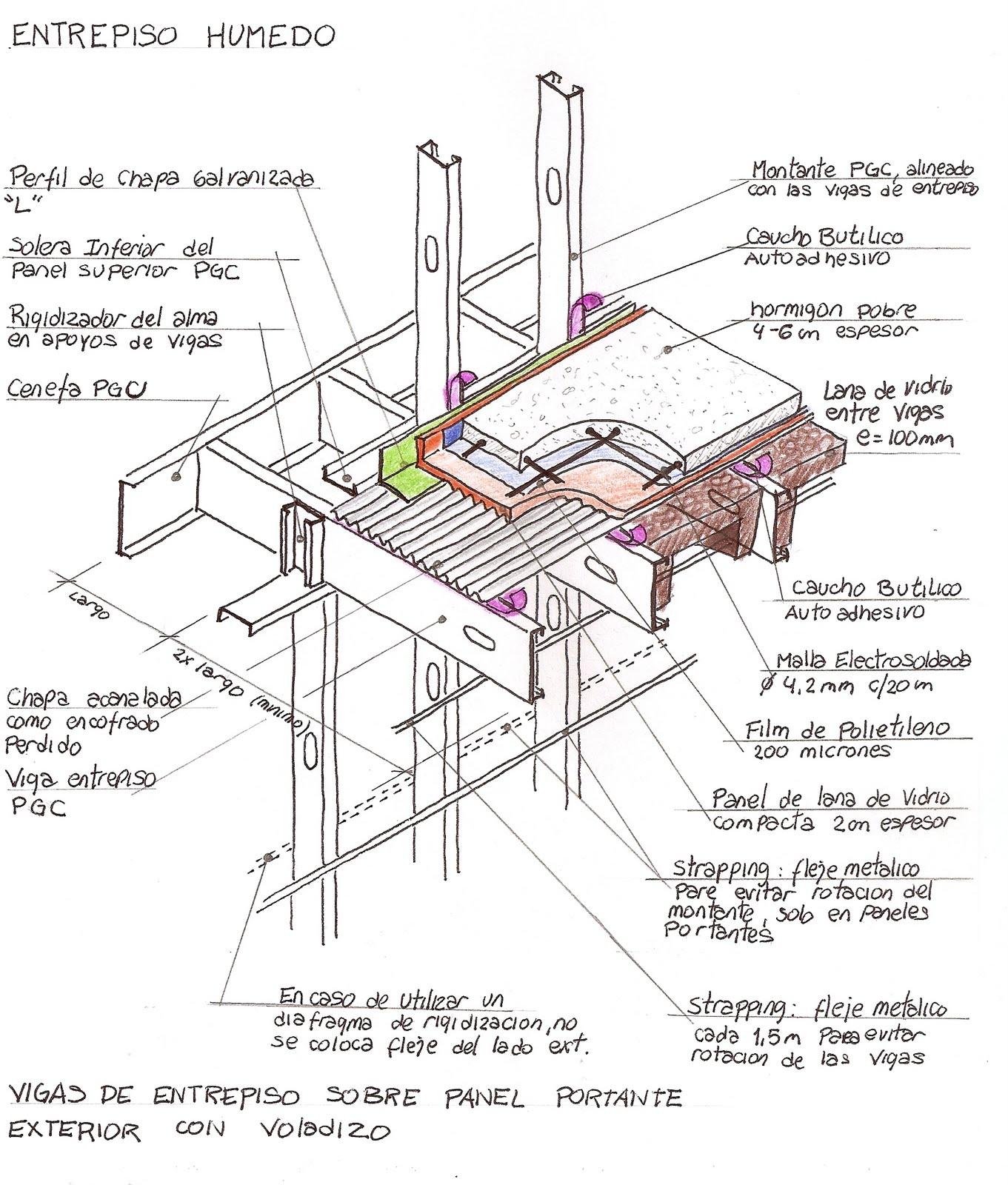Construcciones pisos entrepisos escaleras for Como hacer una escalera para un entrepiso