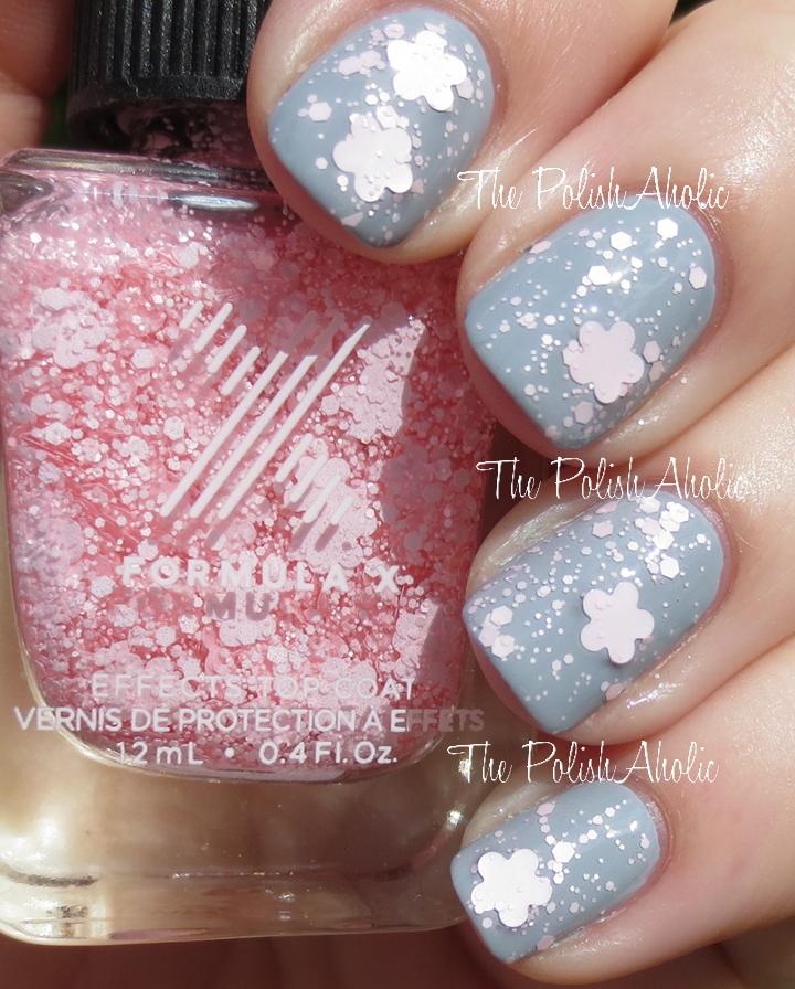 The PolishAholic: Formula X Cherry Blossom Swatch & Review