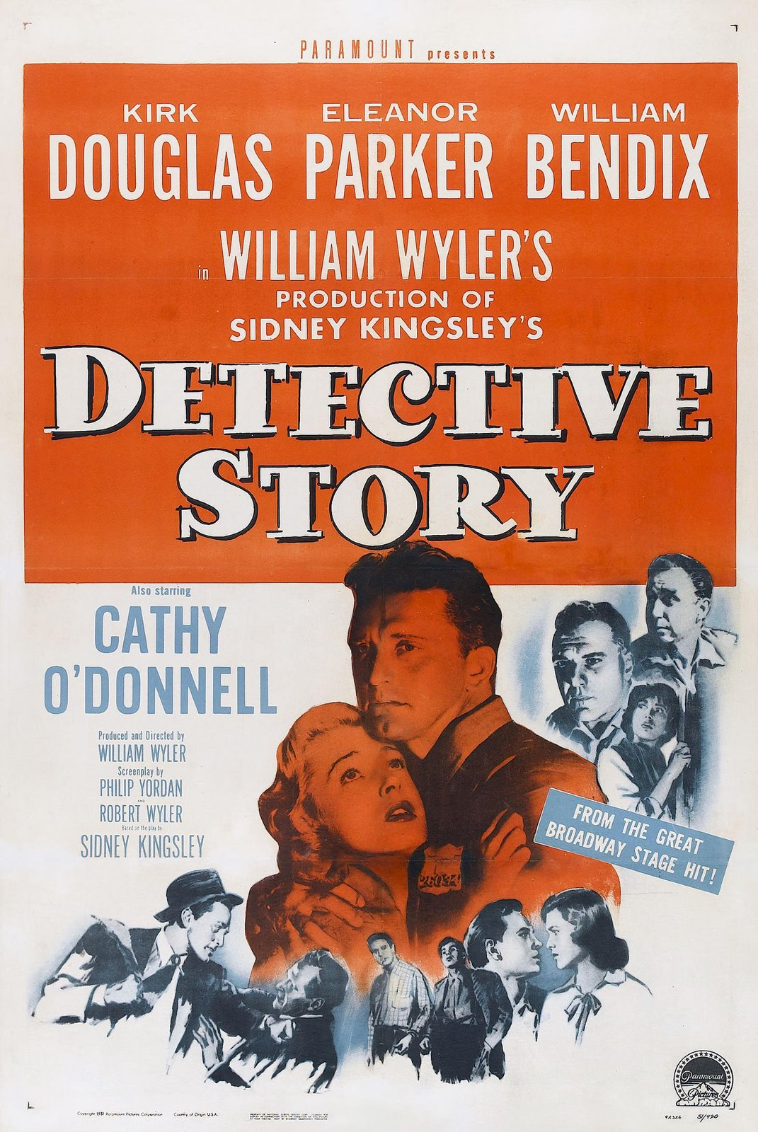 Image result for DETECTIVE STORY 1951 movie