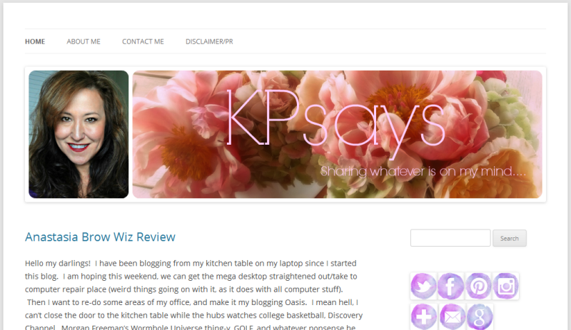 KPsays fashionable heart blog of the month april