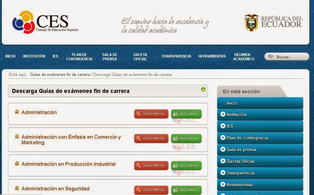 http://www.ces.gob.ec/guias-de-examenes-fin-de-carrera?start=20