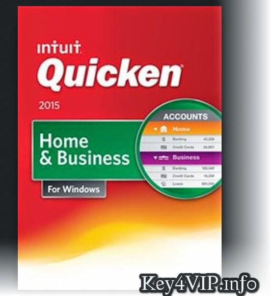 Intuit Quicken Home & Business 2015 R6 24.1.6.9 Full Key,Phần mềm quản lý tài chính chuyên nghiệp