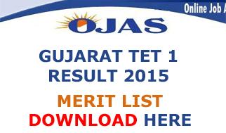 Gujarat TET 1 Result Expected Date, Gujarat TET 1 Exam Result 2015, GSEB Gujarat Teacher Eligibility Test Conducted on 23/08/2015. Gujarat TET 1 Result 2015 through online mode check at ojas.guj.nic.in TET-I Result 2015