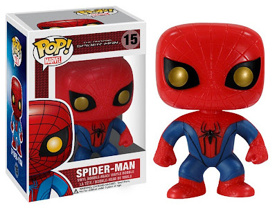 The Amazing Spider-Man Movie Pop! Marvel Vinyl Figure Bobble Head by Funko