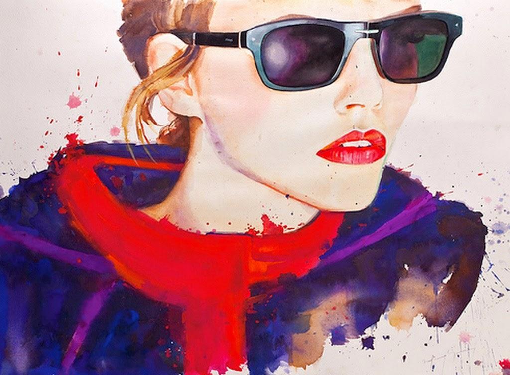 retratos-artisticos-de-mujeres-con-gafas