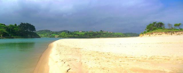 Playa La Rabia en Cantabria