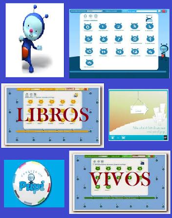 LIBROS VIVOS 1º PRIMARIA CONECTA CON PUPI