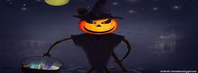 couverture facebook pour Halloween