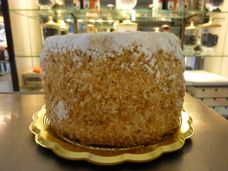 Flavor of italy millefoglie fit for a queen for Dolci tipici di roma