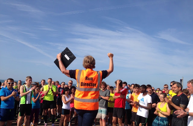 FitBits | the first Hove Prom parkrun 12 July 2015