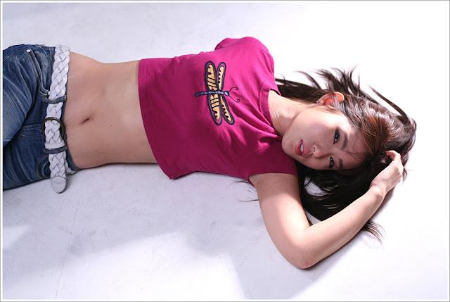 1 Song Jina in Purple-Very cute asian girl - girlcute4u.blogspot.com