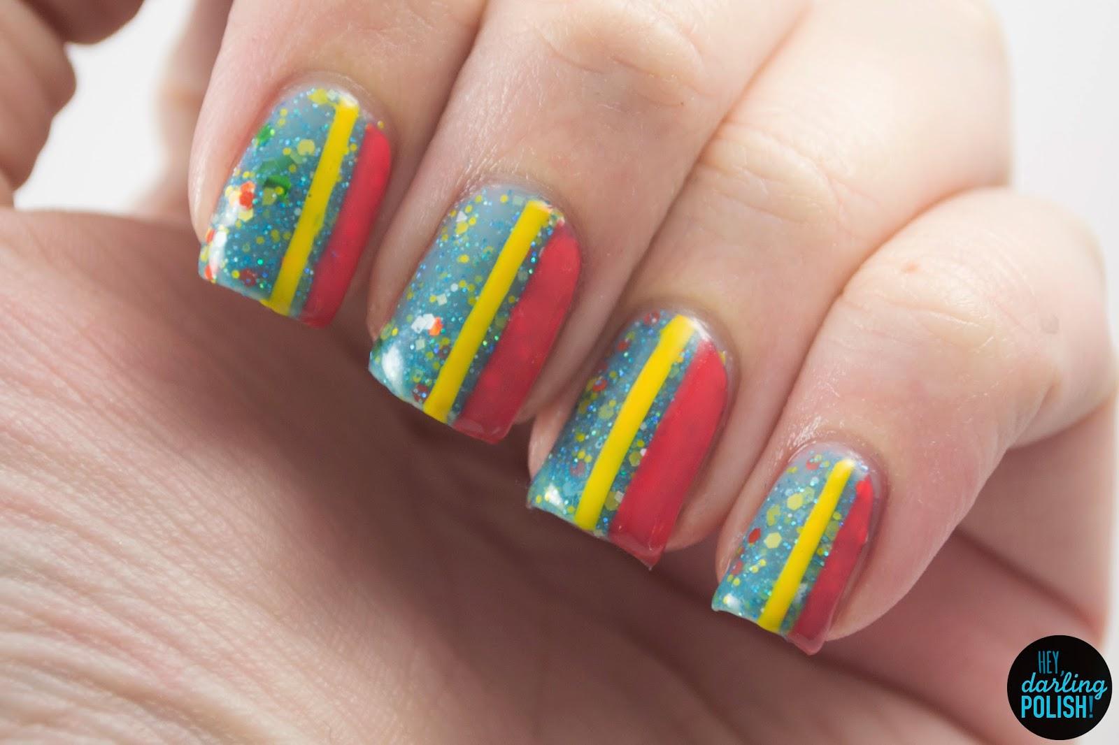 nails, nail art, nail polish, polish, indie, indie polish, indie nail polish, digital nails, hey darling polish, the never ending pile challenge