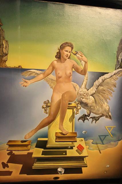 Leda Atómica Salvador Dalí