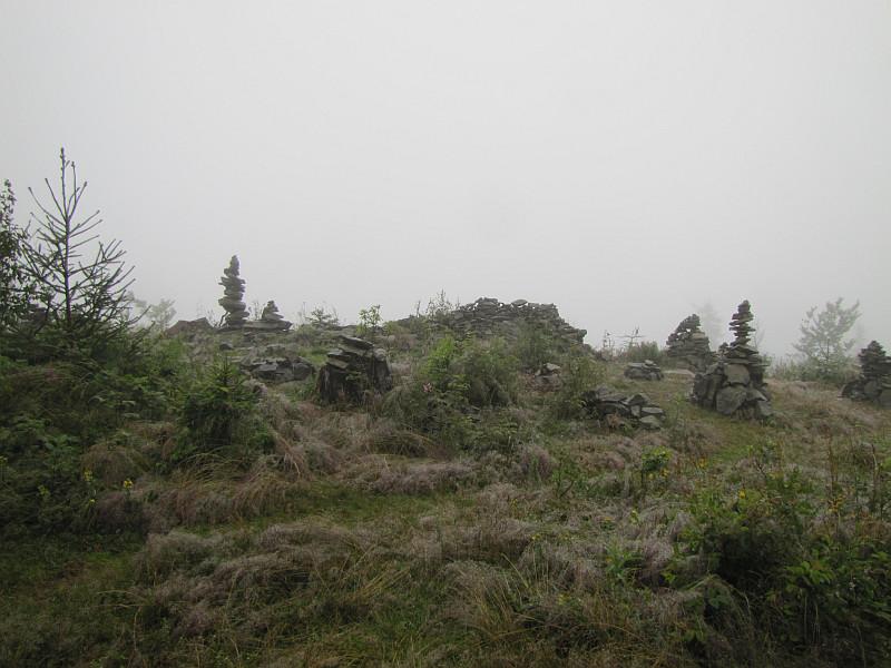 Grzbiet Wielkiego Jawornika.
