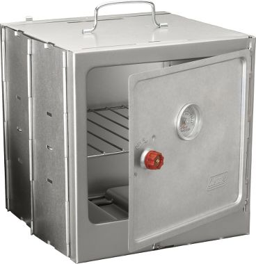 NEW Coleman Camp Oven Folds Flat Space Saver Warms up over Coleman camp stoves