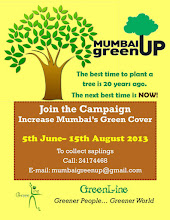 Mumbai Green Up by Green Line - come and plant a tree!
