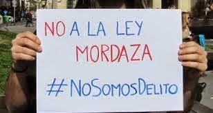 #NOALALEYMORDAZA
