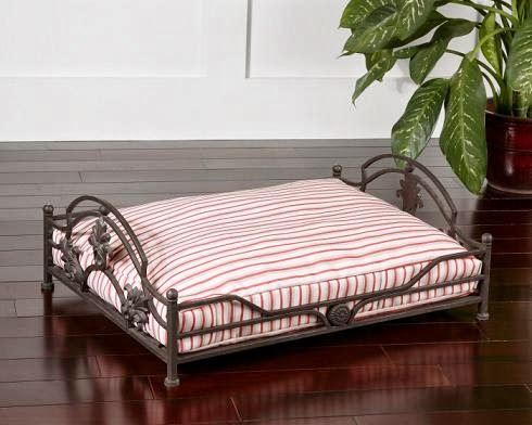 beau pet bed by uttermost designed by matthew williams any dog will feel like a king or queen in this stylish doggie bed made of cleanable and breathable